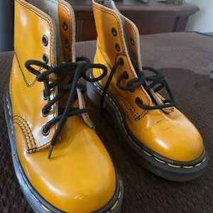 Vintage Yellow Dr.Martens